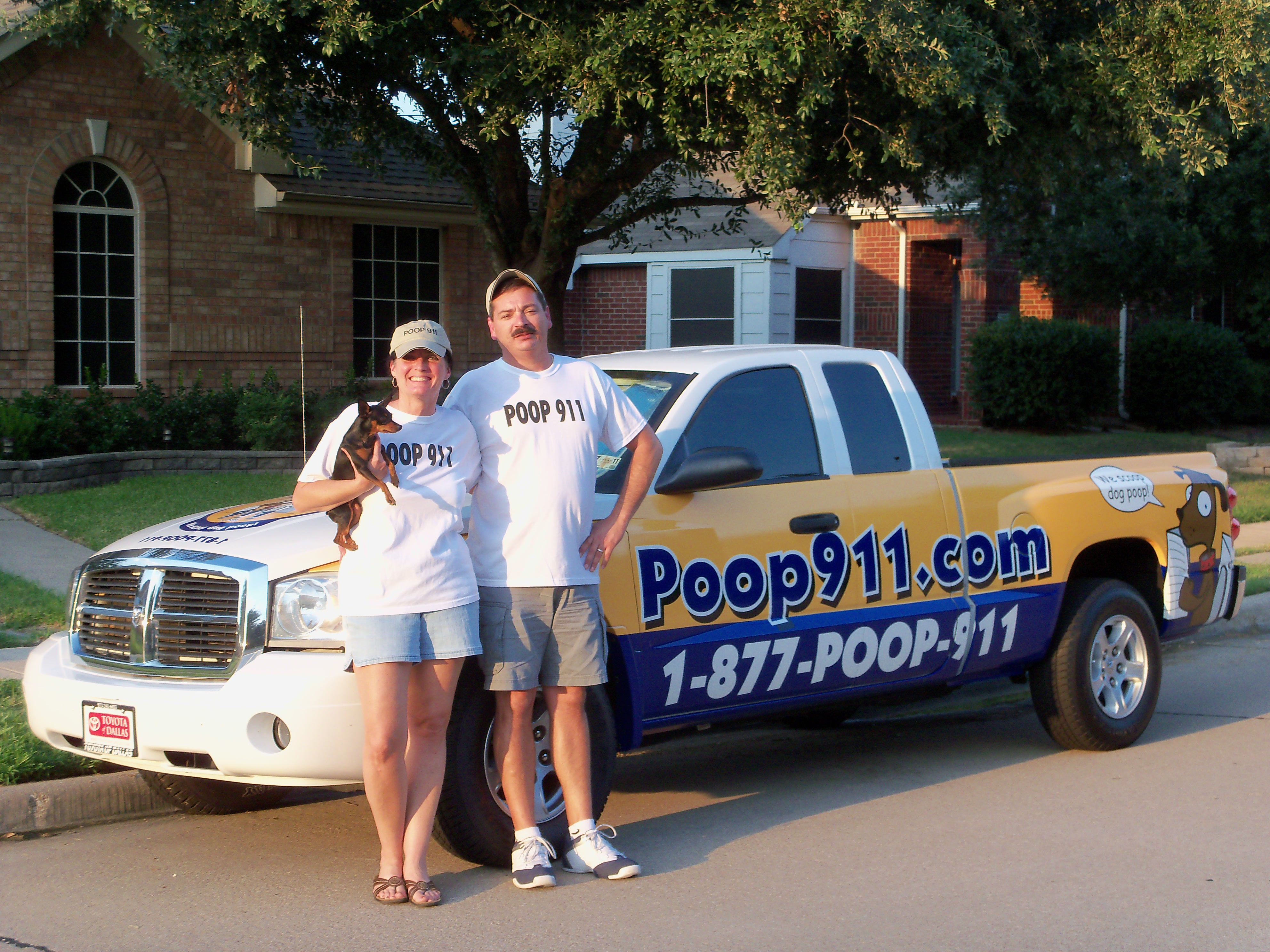 Pet Friendly POOP 911 - North Dallas Fort Worth
