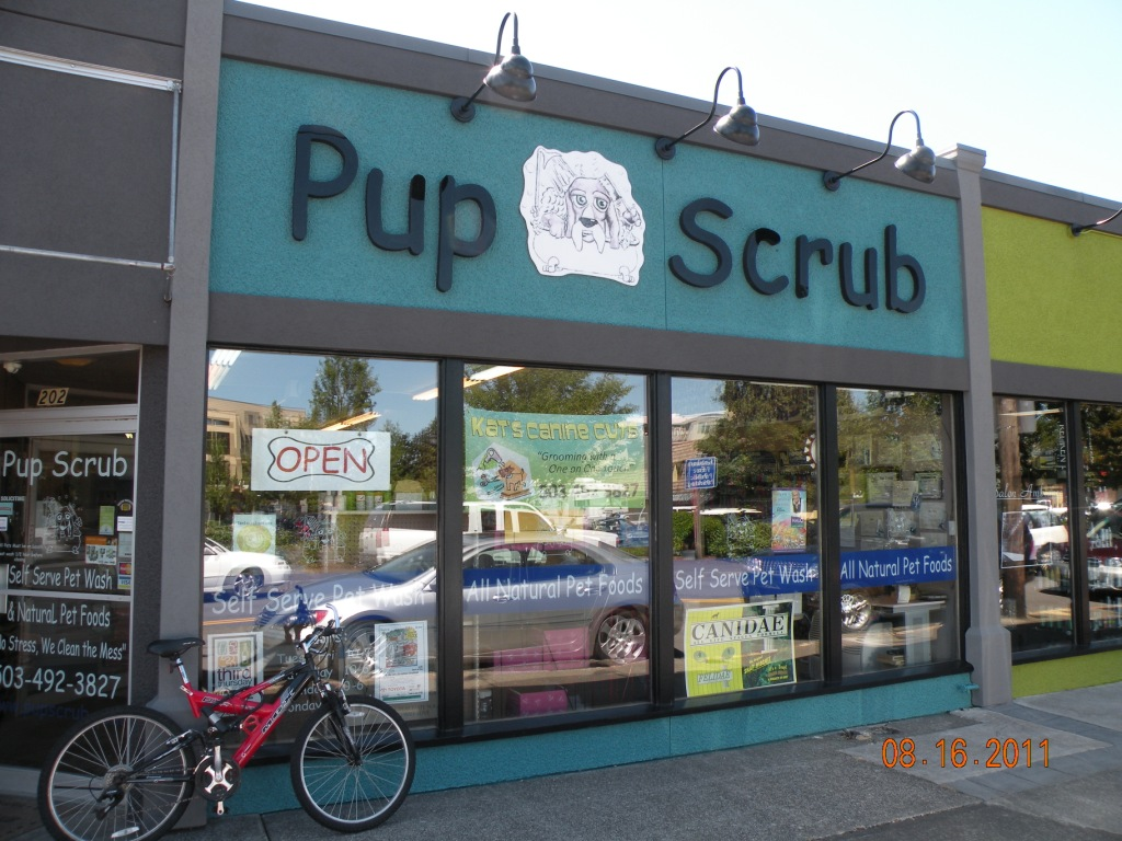 Pet Friendly Pup Scrub Self Serve Pet Wash & Grooming