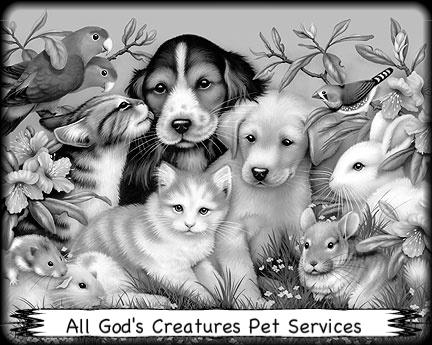 Pet Friendly All God's Creatures Pet Services