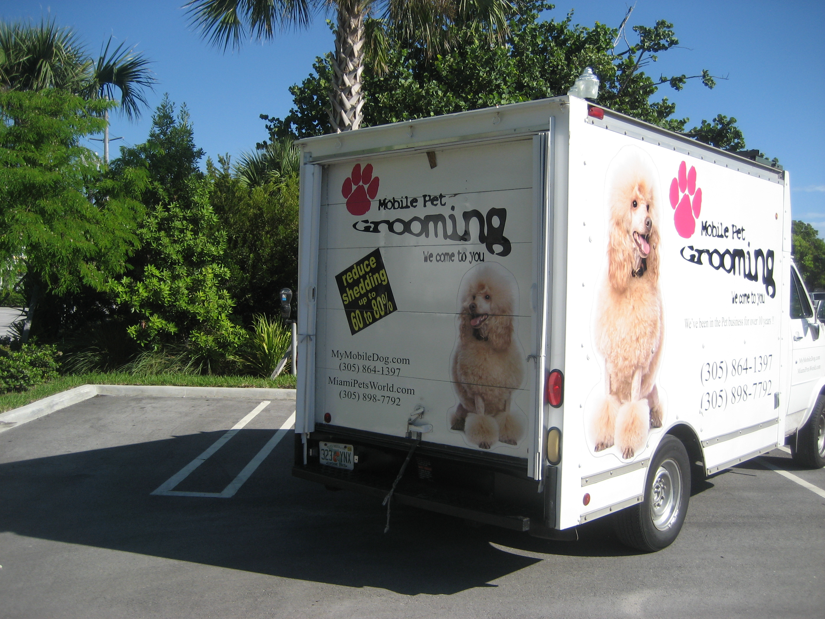 Pet Friendly Mobile Pet Groomer - Miami