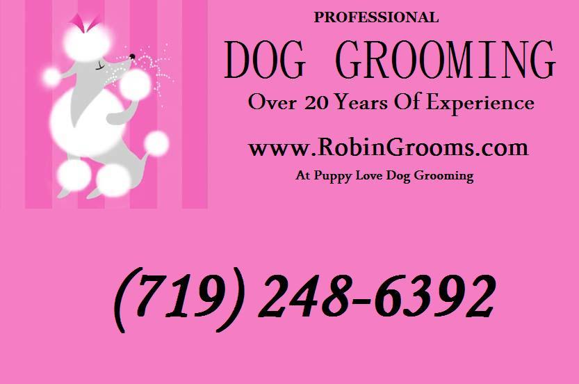 Pet Friendly Robin Grooms