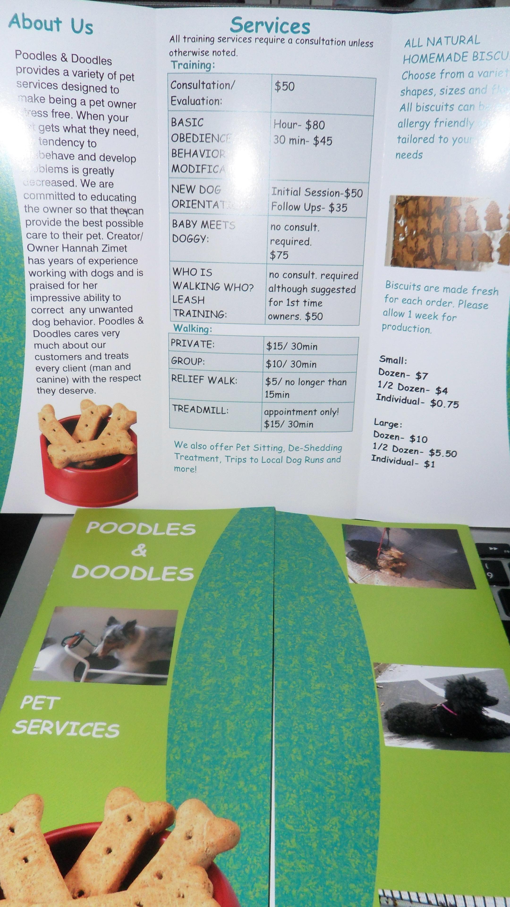 Pet Friendly Poodles & Doodles