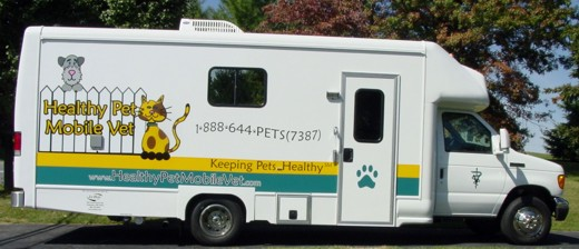 Pet Friendly Healthy Pet Mobile Vet