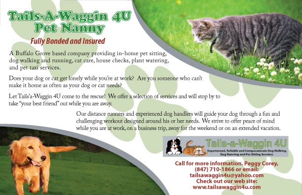 Pet Friendly Tails-a-Waggin 4U