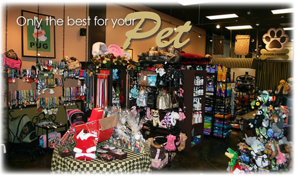Pet Friendly Pooch N Paws Pet Boutique and Bakery