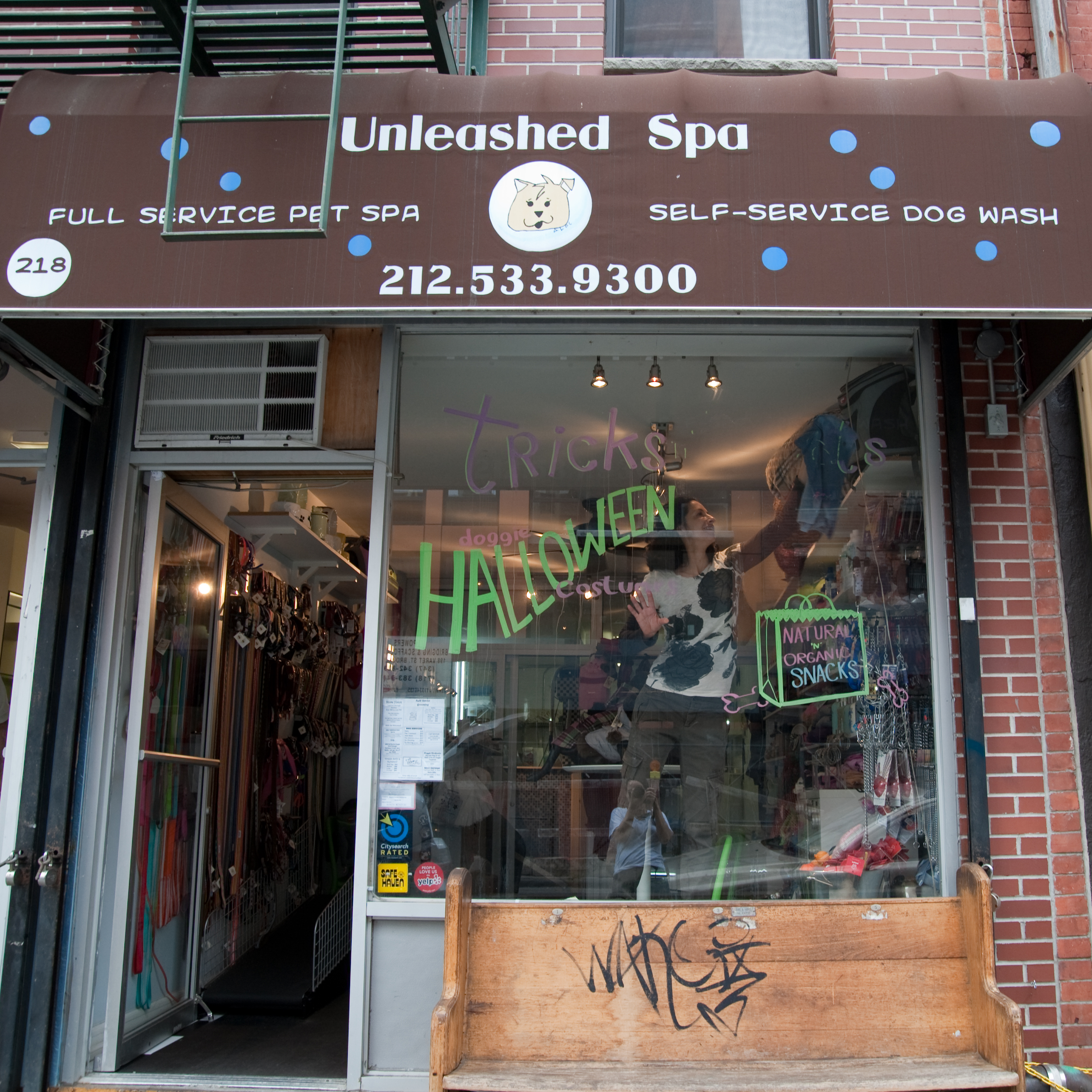 Pet Friendly Unleashed Spa