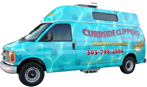 Pet Friendly Curbside Clippers Mobile Pet Grooming