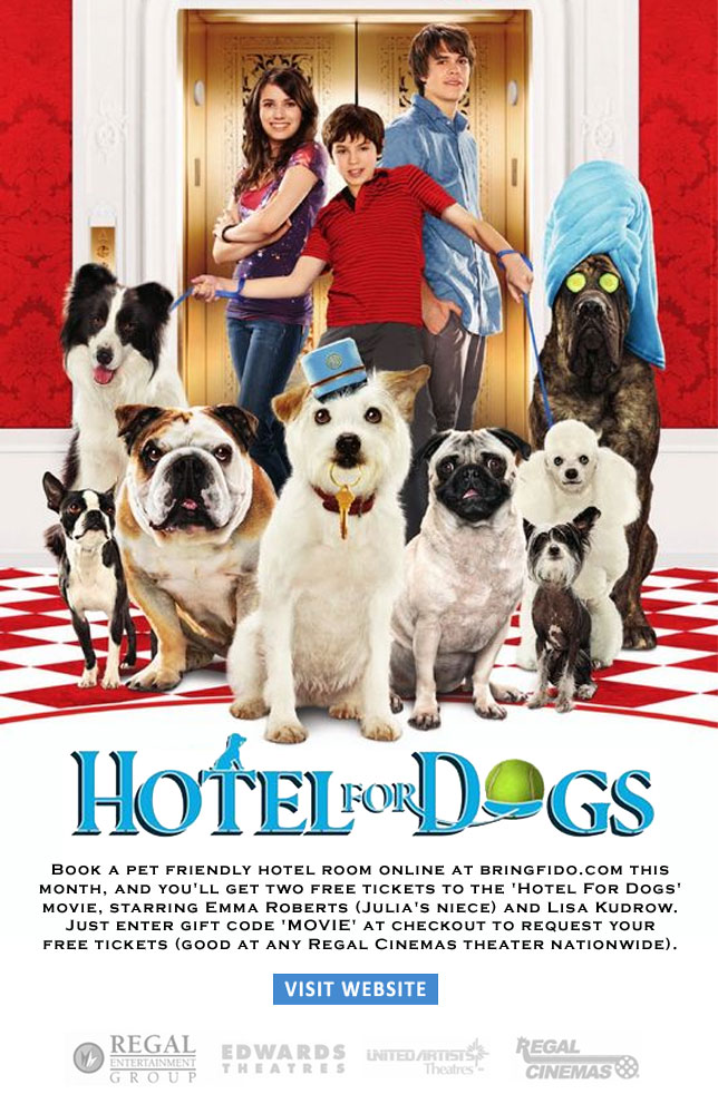 Free Tickets To Hotel For Dogs Movie