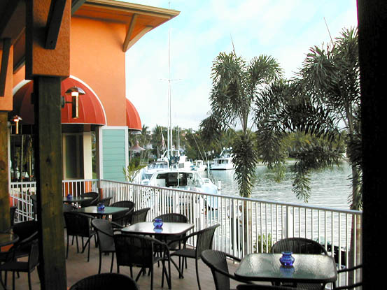 Rumrunners At Cape Harbour Is Pet Friendly